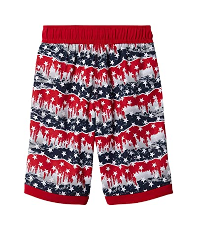 Columbia Kids Sandy Shorestm Boardshorts (Little Kids/Big Kids) (Mountain Red Outdoor Pride) Boy