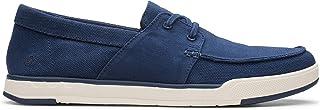 حذاء بدون رباط للرجال من كلاركس، مقاس, (ازرق), 9 UK
