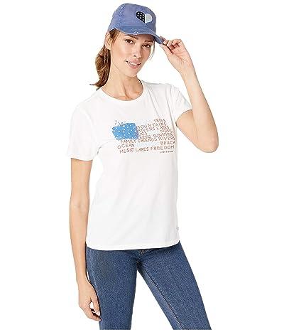 Life is Good LIG Hat and T Bundle (Multi) Women