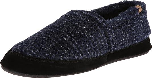 Acorn Men's Moc, Blue Check, XXX-Large / 15-16