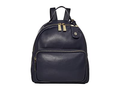 Tommy Hilfiger Julia Dome Backpack (Tommy Navy 1) Backpack Bags