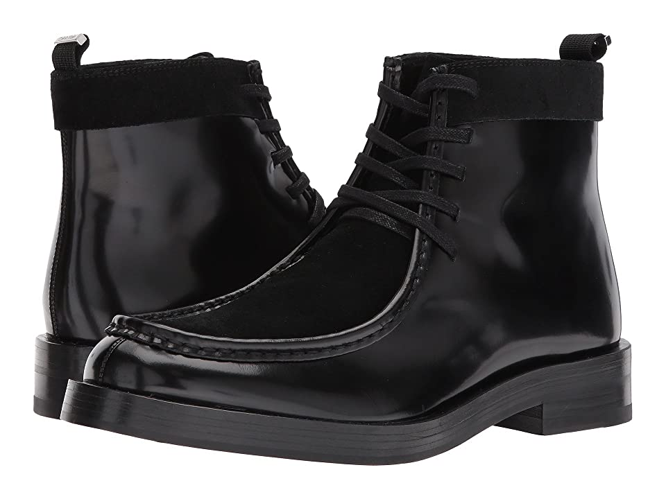 Calvin Klein Rafi (Black Box Leather/Calf Suede) Men
