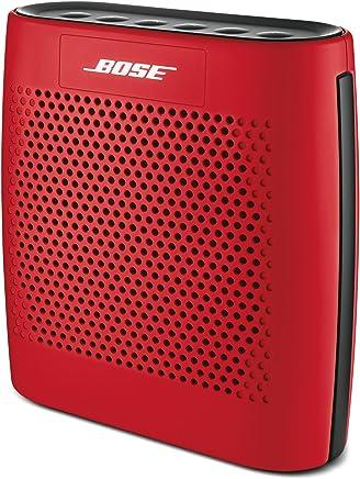 Parlante SoundLink Color con Bluetooth de Bose (Negro) Altavoz Bluetooth Rojo