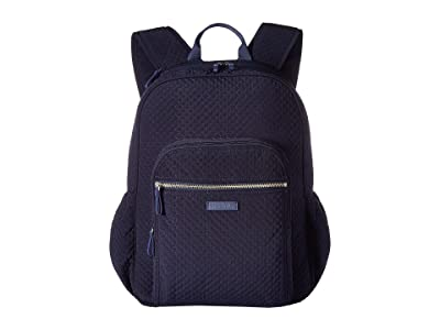 Vera Bradley Iconic Campus Backpack (Classic Navy) Backpack Bags