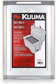 Kuuma Aluminum Fishing Tray-Stores Bait Keep Fresh, Fits Coolers, Measures 16.3