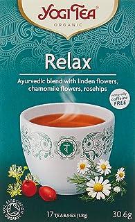 Yogi Organic Relax Tea, 30.6g, (Pack of 17)