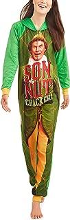 Elf Buddy The Women's Son Of a Nutcracker Pajama Union Suit One Piece Sleepwear