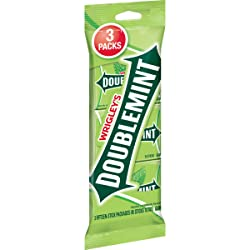 Wrigley's Doublemint Chewing Gum, Multipack (3 Packs Total)