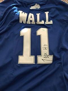 new arrival 73169 2d132 John Wall Autographed Signed Memorabilia Jersey Kentucky Wildcats JSA Coa