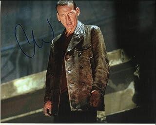 Firmar Dreams Autógrafos Christopher Eccleston firmado 10 x 8 foto a color – Doctor Who – 28 días después, distribuidor 100% en persona – Registrado #242 de la UACC