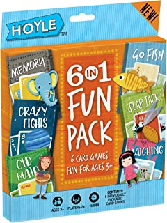 Hoyle Kid's Fun Pack- Card Games (Artwork May Vary)