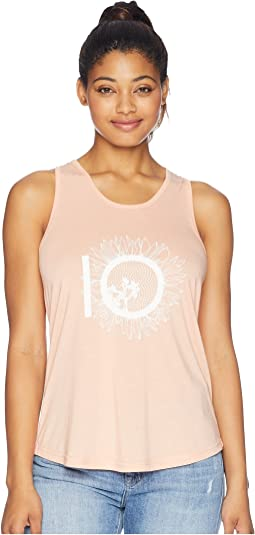 Luna Sunflower Logo Tank Top