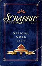 Official Word List Scrabble Crossword Game 50TH Aniversary
