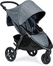 Best Britax B-Free Stroller | All Terrain Tires + Adjustable Handlebar + Extra Storage with Front Access + One Hand, Easy Fold, Vibe Review