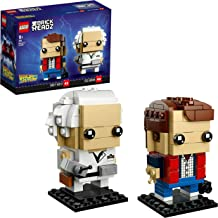 LEGO BrickHeadz Marty Mcfly & Doc Brown (41611)  (Exclusivo de Amazon y LEGO)