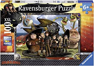 Ravensburger How to Train Your Dragon: Toothless & Friends Jigsaw Puzzle (100 Piece)
