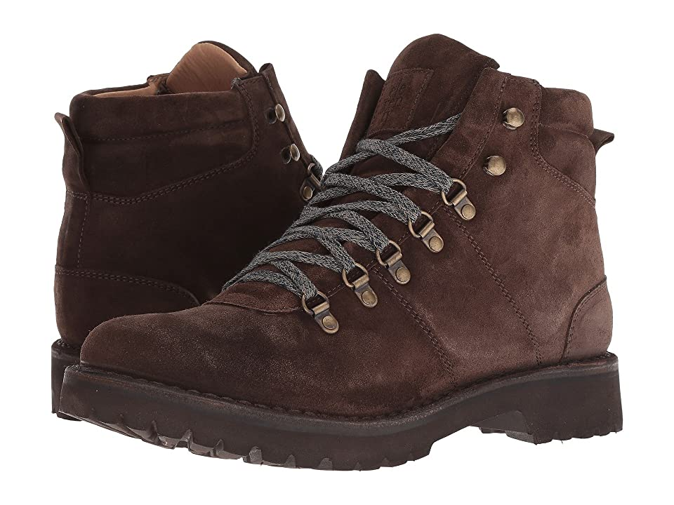 eleventy Suede Hiker Boot (Brown) Men