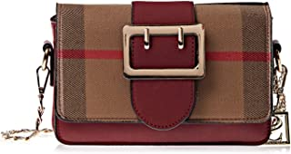 Kris Stella Crossbody Bag for Women - Maroon