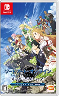 Bandai Namco Games Sword Art Online Hollow Realization Deluxe Edition NINTENDO SWITCH REGION FREE JAPANESE VERSION