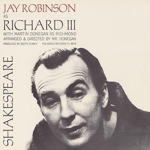 William Shakespeare King Richard Iii By Jay Robinson On