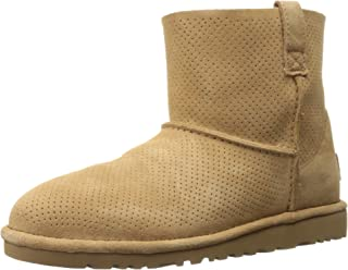Women's Classic Unlined Mini Perforated Spring Boot