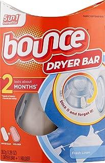 Bounce Dryer Bar Fabric Softener Fresh Linen