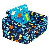 Amazon Com Keet Homey Vip Organic Kid S Sofa Navy Blue Baby