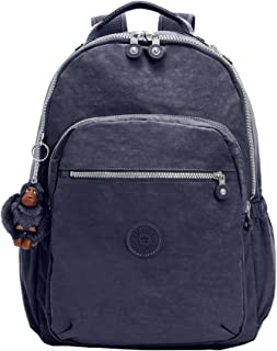Kipling Womens BP4167 Seoul L Solid Laptop Backpack