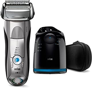 Braun Series 7 7899cc Electric Wet & Dry Foil Shaver With Clean & Charge Station