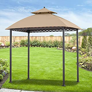 Garden Winds Replacement Canopy for The Pinehurst Grill Gazebo - Standard 350 - Beige