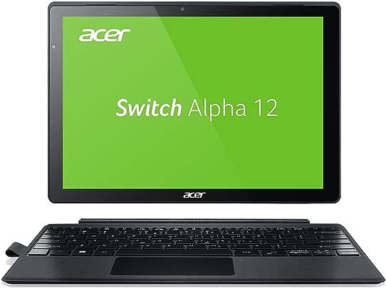 Acer Switch Alpha 12 SA5-271-53QS 30 5 cm 12 Zoll QHD Touch IPS Convertible Laptop Intel Core i5-6200U 8GB RAM 256GB SSD Windows 10 silber Schätzpreis : 332,00 €
