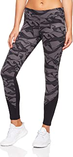 adidas Women's CZ7968 D2M Regular-Rise AOP Long Tight