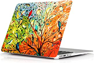 """MacBook Pro 15 Inch Case with Retina Display (NO CD-ROM Drive) FUNUT 15"""" Ultra Slim Protective Cover Colorful Lightweight Rubberized Case Hard Plastic Snap On Skin Model A1398 (Birds in Spring)"""