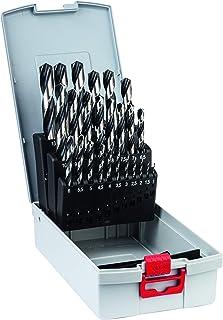 Bosch Professional 25-delars HSS spiralborrsats PointTeQ (för metall, ProBox, tillbehör skruvdragare)