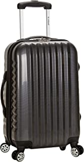 Luggage Melbourne 20 Inch Expandable Carry On, Carbon, One Size
