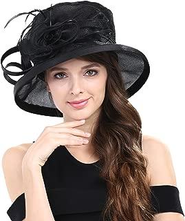 Women Kentucky Derby Horse Race Fascinator Church Fancy Party Top Hat S043