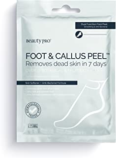 BeautyPro FOOT & CALLUS PEEL dead skin removal with over 16 botanical & fruit extracts