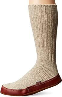 Acorn Unisex-Adult Mens Slipper Sock