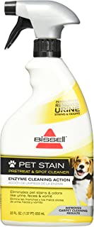 Bissell Rental Pet Urine Stain and Odor Pretreat and Spot Cleaner, 22 oz