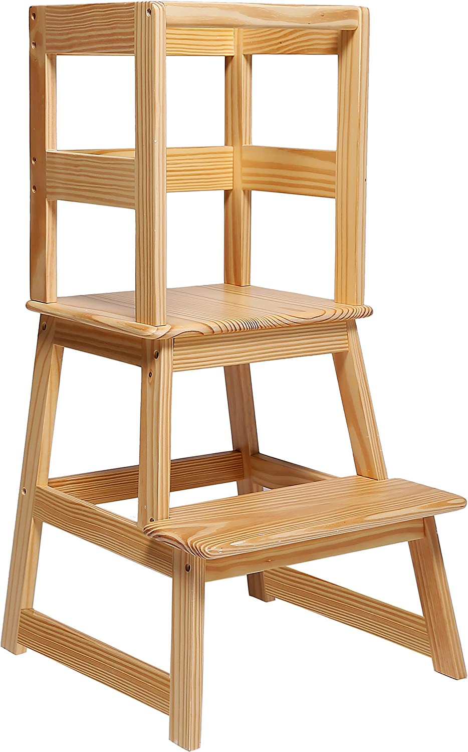 SDADI Kids Kitchen Step Ranking TOP7 Stool Minneapolis Mall with Safety Toddlers - for 18 Rail