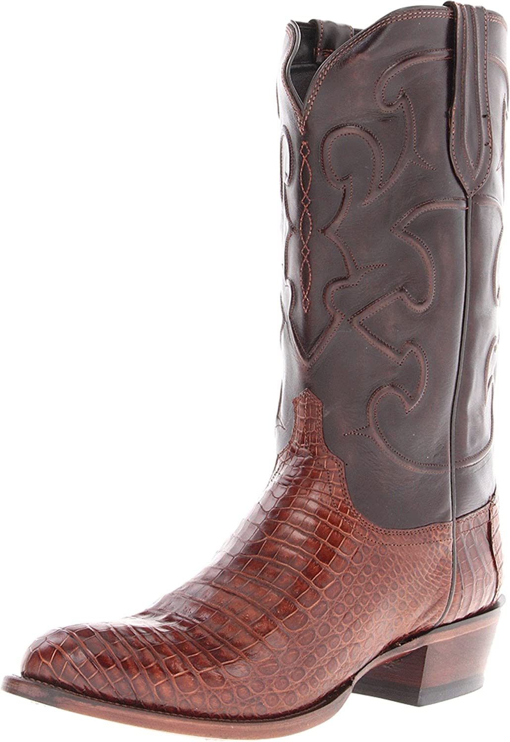 Lucchese Classics Men's National products Charles-sien Bly Derby Croc dkbrn Beauty products Cal Ri
