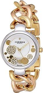 Akribos XXIV Women's Jewelry Chain Link Watch