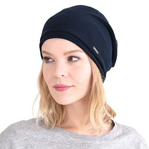 Casualbox 100% Silk Slouchy Beanie Natural Chemo Hat Sensitive Skin  Oversized Baggy 70c6852eccb8