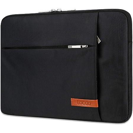 "Lacdo 11インチ Chromebookケースノートパソコンのスリーブ にとって 11.6インチAcerLenovo Asus Samsung Chromebook 3 2 4 | 11.6""Macbook Air | HP Stream/Probook | Dell Inspiron 11 | Surface Pro X 7 6 5コンピューターバッグ、ブラック"