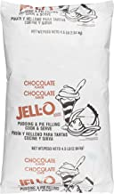 JELL-O Chocolate Cook & Serve Pudding & Pie Filling Mix (72 oz Bags, Pack of 6)