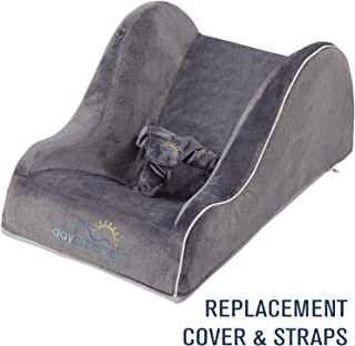 DayDreamer Sleeper Baby Lounger [REPLACEMENT COVER] & Harness Straps | Extra Backup Cover (Dark Grey)