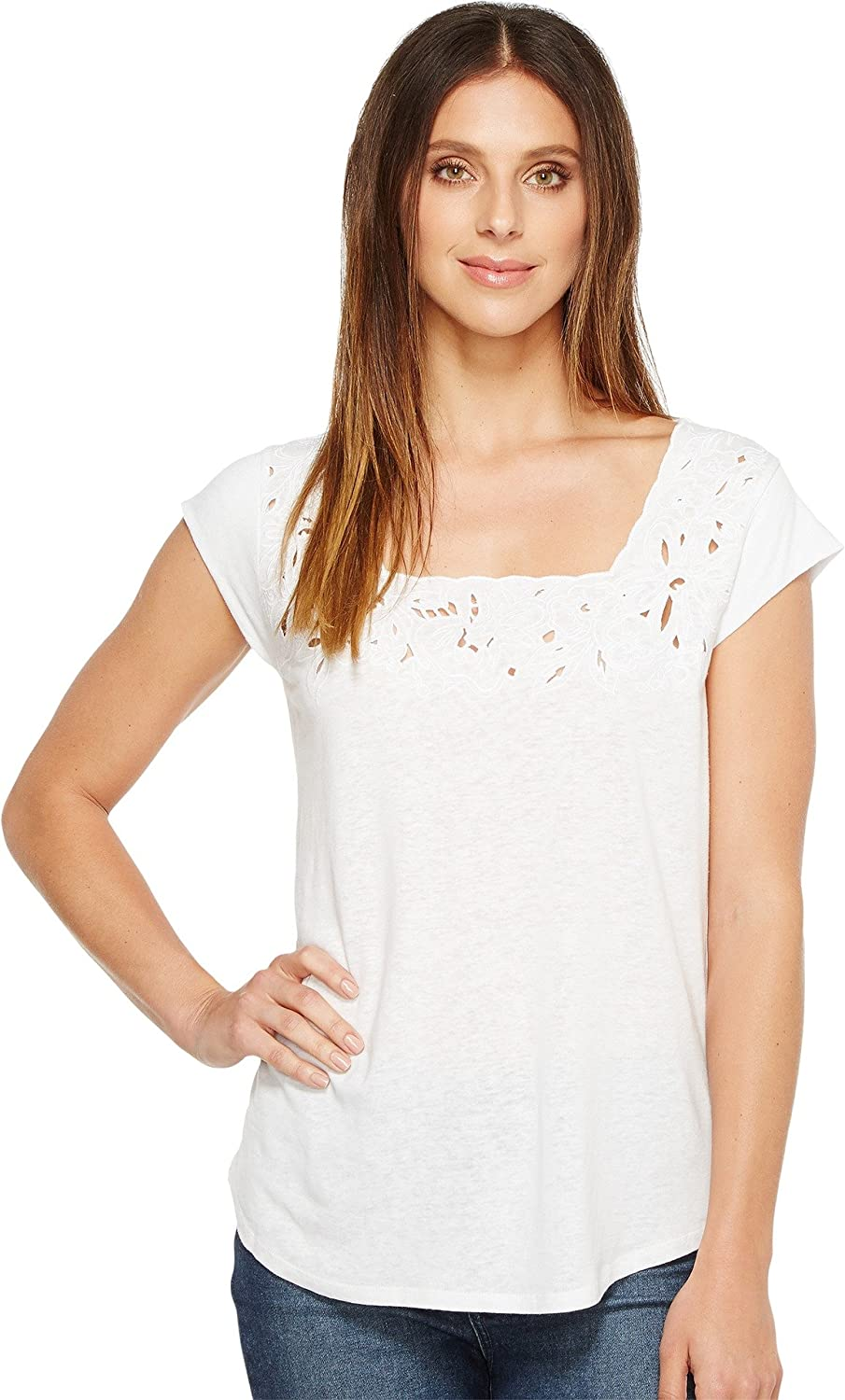Limited Special Price Popular brand NYDJ Women's Cut Knit Tee Out