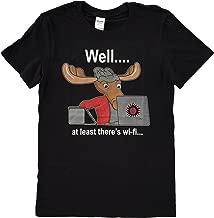 NaniWear Supernatural Sam Winchester Moose WiFi Geek T-Shirt