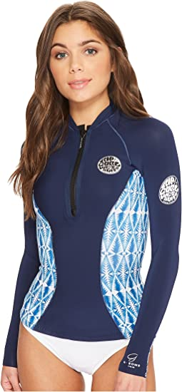 Rip Curl G Bomb Long Sleeve Full Zip Sub Jacket