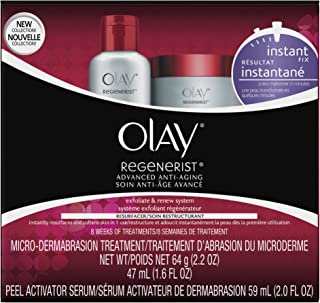 Olay Regenerist Microdermabrasion & Peel System Microdermabrasion Treatment 1 Kit